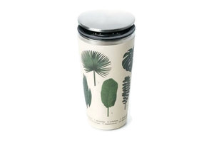 Bamboo SlideCup koffie to go thermos beker