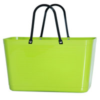 Hinza Bag lime, Shopper gemaakt van Bio plastic