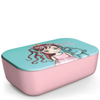 BambooFriends grote Bamboe Lunchbox Queeny & Elyboo