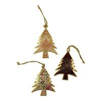 Imbarro metalen kerstboom hangers Trees Forest
