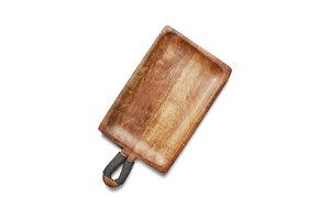Serveerplank met handgreep van duurzaam Mangohout