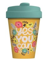 BambooCup volledig bamboe koffie to go beker Yes You Can