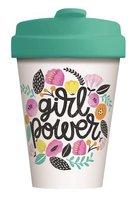BambooCup volledig bamboe koffie to go beker GirlPower