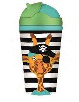 BambooFriends bamboe drinkbeker met rietje: Giraf Sunny