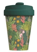 BambooCup volledig bamboe koffie to go beker Jungle Look