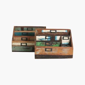 Scrapwood letter box - opslagkistje voor documenten