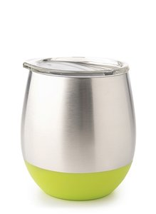 U-Konserve insulated tumbler lime - rvs drinkbeker