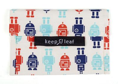 Keepleaf lunch baggie Robot, lunch zakje
