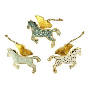 Imbarro Hanging Horses versiering