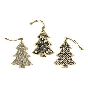 Imbarro metalen kerstboom hangers Peoni