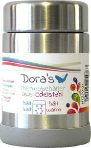 Doras thermos lunchbox 300 ml van roestvrijstaal