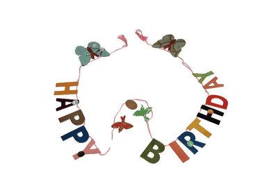 FairTrade Happy Birthday slinger
