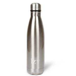 Izy bottle Rocky Mountain Silver 500ml GreenPicnic