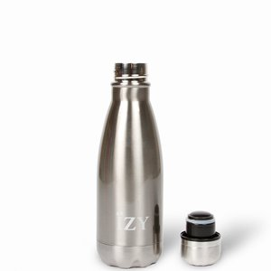Izy bottle Rocky Mountain Silver 350ml GreenPicnic