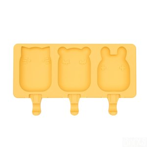We Might Be Tiny yellow Frostie ijslolly vormpjes bij GreenPicnic