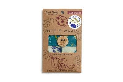Bees wrap Reusable food wrap WildLife pack bij GreenPicnic