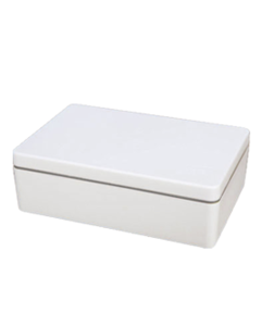 Ajaa lunchbox van bioplastic Cool Grey verkrijgbaar bij GreenPicnic