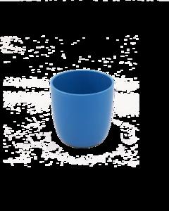 Ajaa blauwe drinkbeker van bioplastic verkrijgbaar bij GreenPicnic