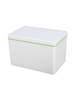 Ajaa Naturbox voorraaddoos 2,1L Lime bij GreenPicnic