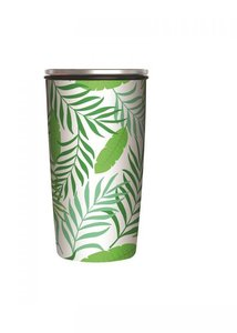 Bamboe SlideCup Bamboo Cup Deluxe Jungle Leaves