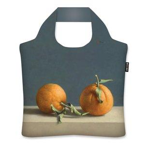 Ecozz opvouwbare shopper Two Oranges van Henk Helmantel