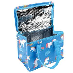 REX lunch koeltasje met eenhoorns en regenbogen