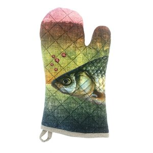 Imbarro kitchen glove ocean Greenpicnic