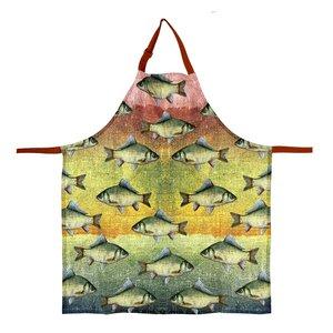 Imbarro kitchen Apron ocean Greenpicnic