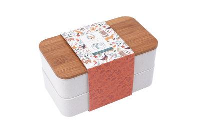 Bento Box Bamboo Fox and Fern - GreenPicnic
