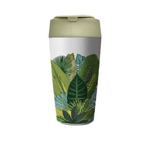 GreenPicnic - BioLoco plant deluxe cup Exotic Leaves