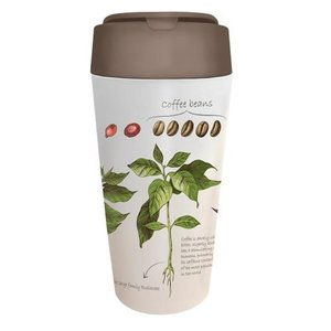 GreenPicnic - Bioplastic Plant deluxe cup Coffee van BioLoco