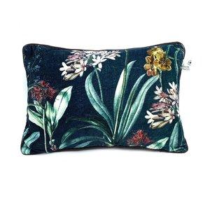 Imbarro Cushion Florin, sierkussen met bloemen