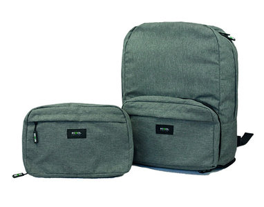 GreenPicnic - Foldable Voyager Backpack Grey van Ecozz