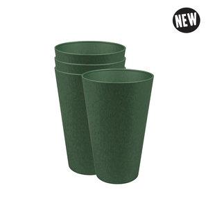 GreenPicnic Reload Cup set van 4 bioplastic bekers - Zuperzozial