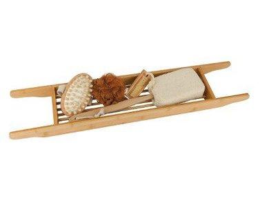 Croll Denecke bamboe geschenk set - Bamboe bad rekje