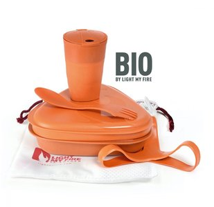 Light My Fire messkit BIO Rusty Orange - GreenPicnic