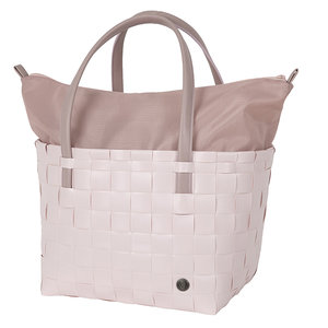 Handed By Color Deluxe shopper van gerecycled plastic - Nude