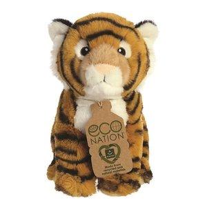GreenPicnic tijger knuffelbeest duurzaam van gerecycled plastic - Eco Nation