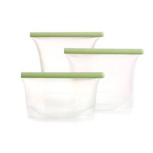 Lekue set van 3 siliconen diepvrieszakken - GreenPicnic
