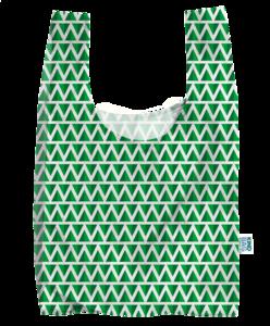 Kind Bag London Mint - Opvouwbare boodschappentas van gerecyclede plastic flessen