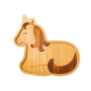 Sass and Belle bamboo plate Unicorn - Bamboe bordje van een eenhoorn