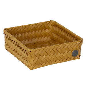 Handed By Basket Fit Square ochre yellow - GreenPicnic