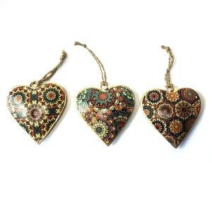 Imbarro metalen hart hangers: Hanging Hearts Tiles, GreenPicnic