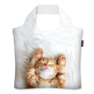 Ecozz opvouwbare rPET shopper Kitten - Verkooppunt GreenPicnic
