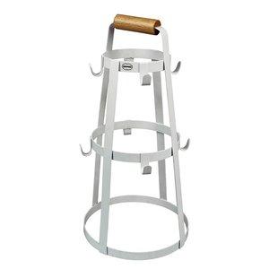 Cabanaz metal Mug Rack white - GreenPicnic