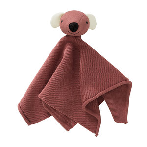 Fresk Dachsy Ash Rose Cuddle Cloth  knuffel speendoekje van bio katoen, GreenPicnic