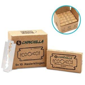 Chinchilla plastic-vrije scheermesjes navulling voor veiligheidsscheermes - GreenPicnic