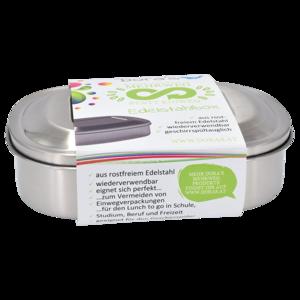 Dora RVS lunchbox met schuifdeksel - GreenPicnic