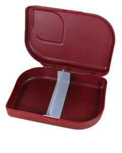 GreenPicnic - Lunchbox bio plastic red van Ajaa