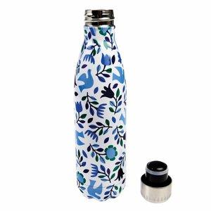 REX London stainless steel bottle Folk Doves